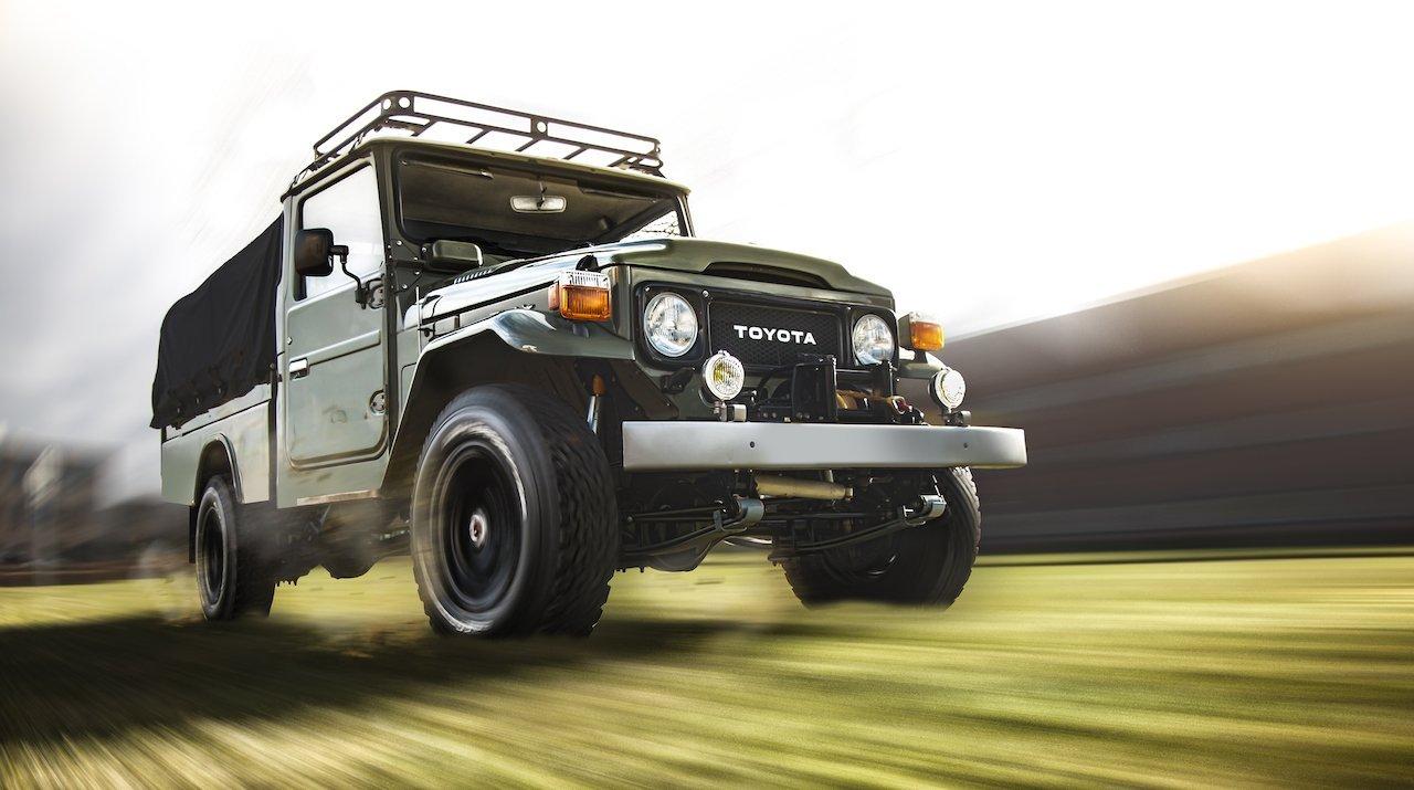 Toyota Landcruiser Classic sublime groen