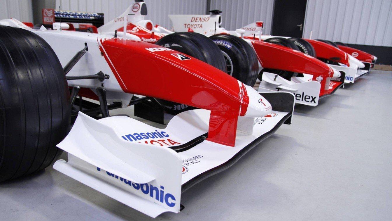Toyota Formule 1 TF108 / V8