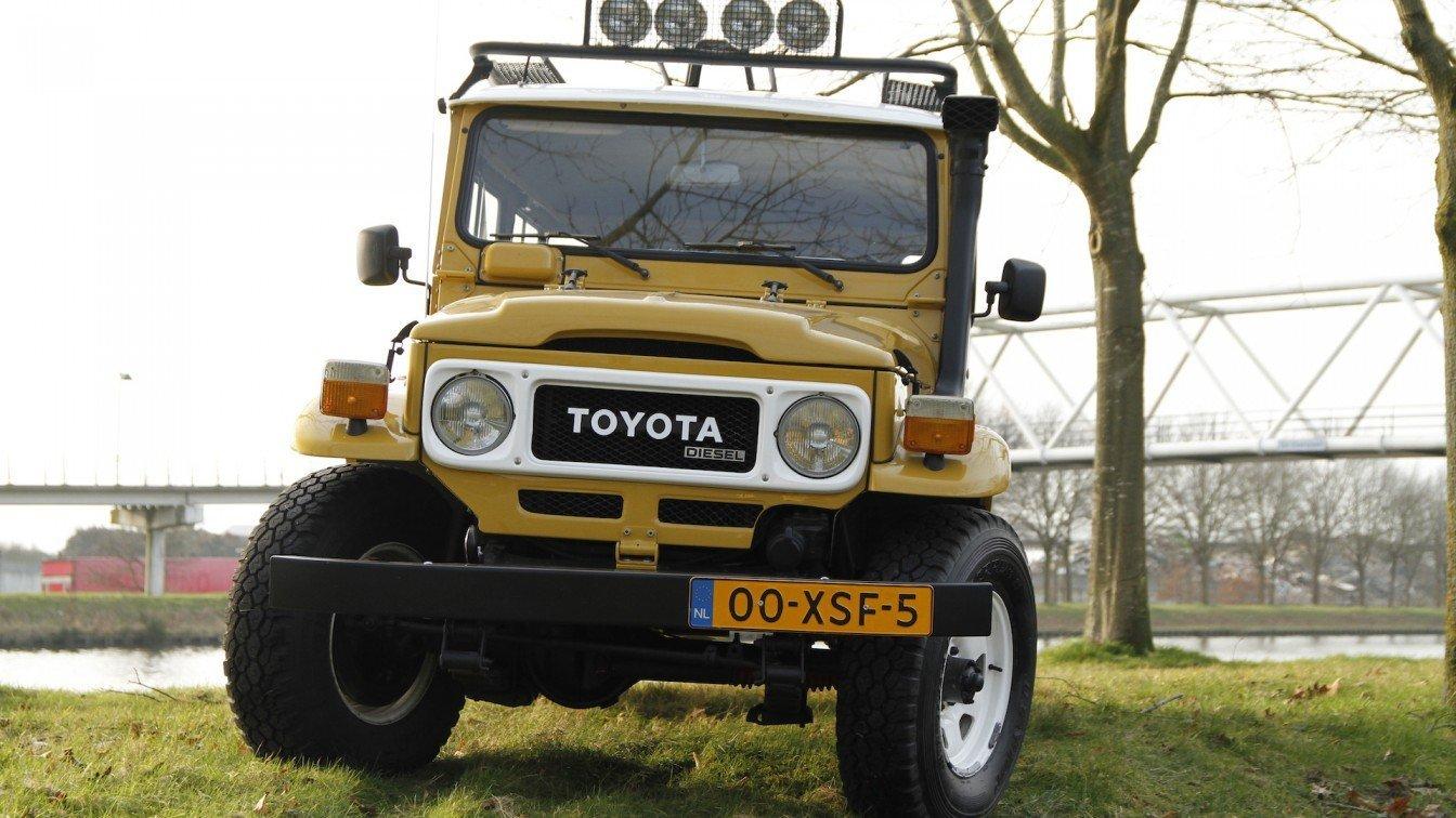 Toyota LandCruiser HJ45 Diesel