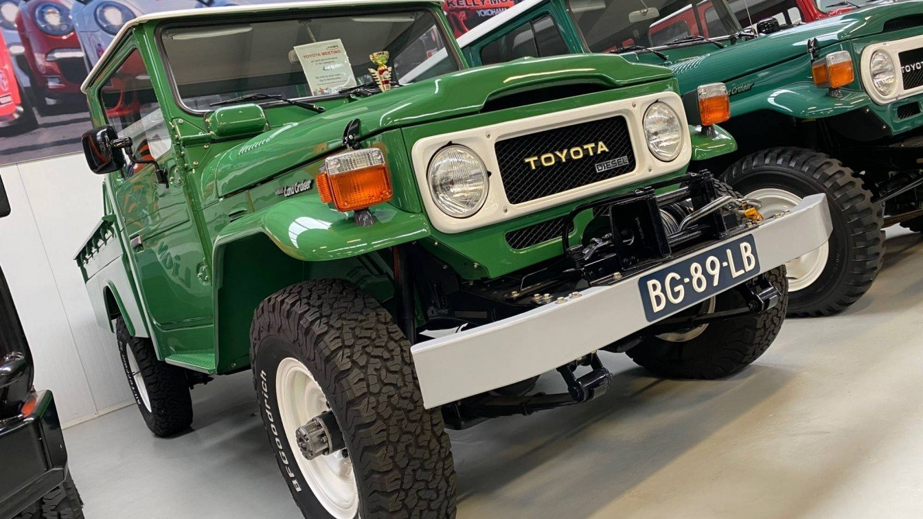 Toyota Landruiser BJ45 Pick-Up