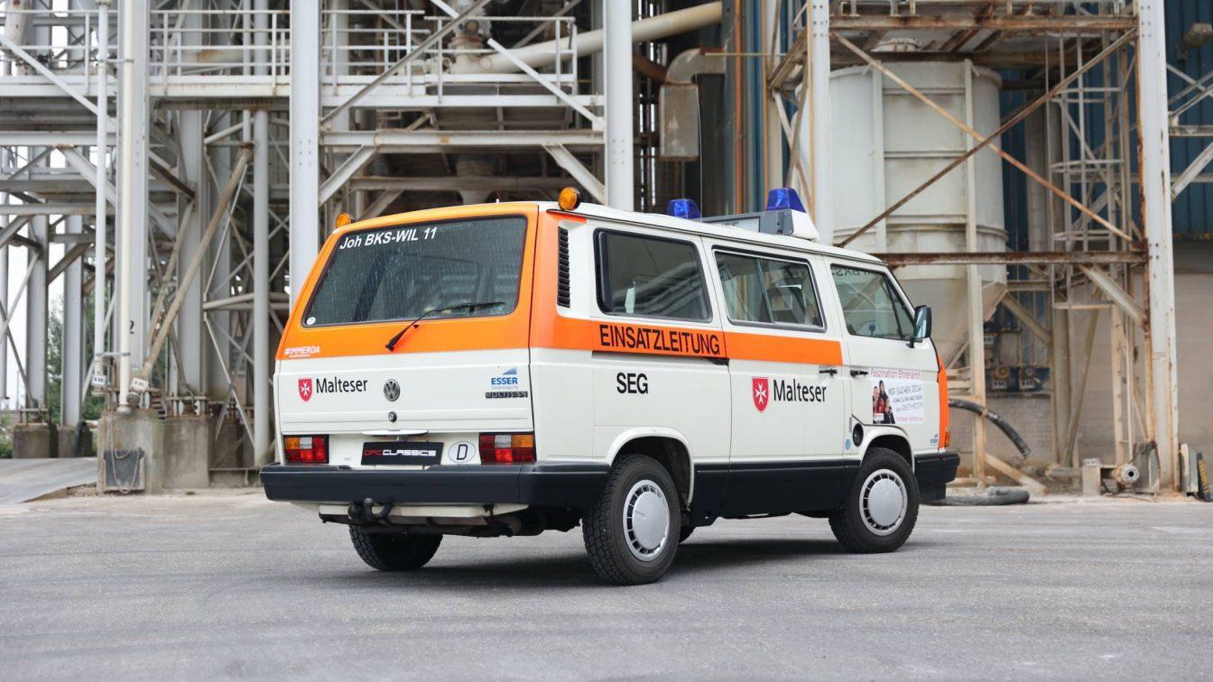 Volkswagen Transporter T3 Combi DRK Malteser